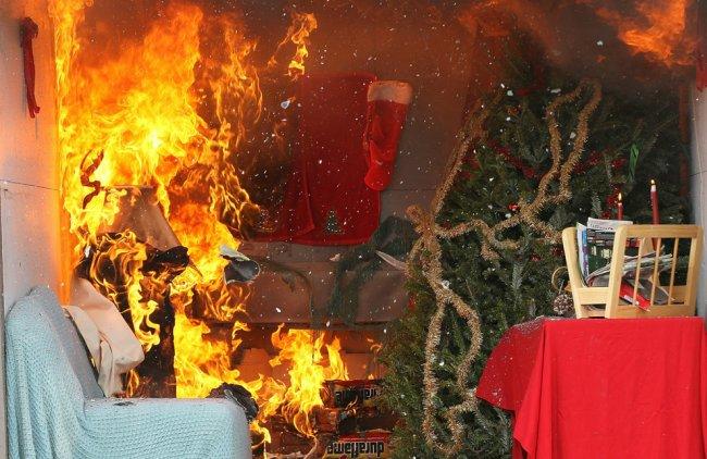 ОНД (по г. Радужный) Меры пожарной безопасности в период Новогодних и Рождественских праздников
