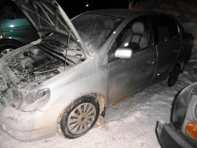 ОНД (по г. Радужный) Пожар в автомобиле 18 февраля 2016 года.