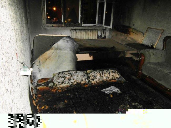 ОНД (по г. Радужный) Пожар в квартире 21 февраля 2016 года.