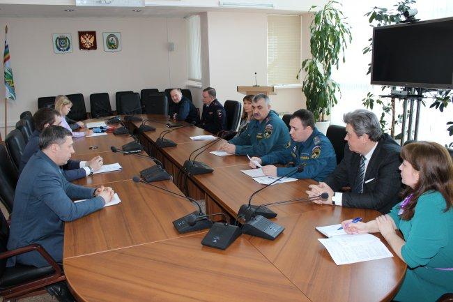 ОНД (по г. Радужный) Очередное заседание КЧС и ОПБ прошло в Радужном.