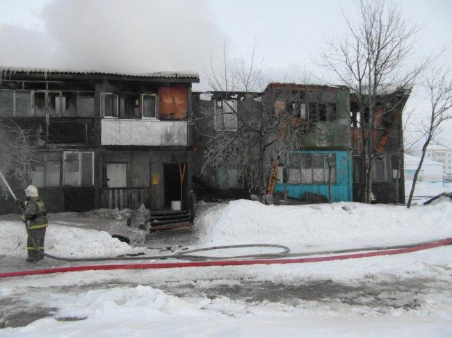 ОНД (по г. Радужный) Пожар 15 марта 2016 года.