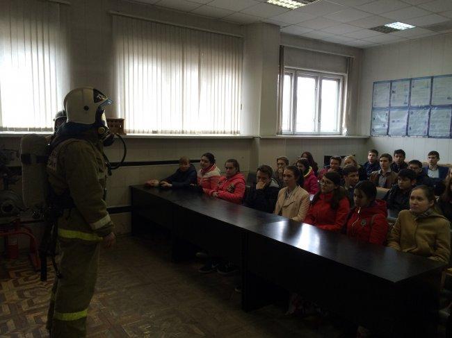 ОНДиПР (по г. Радужному) Открытый урок по ОБЖ в стенах пожарной части.