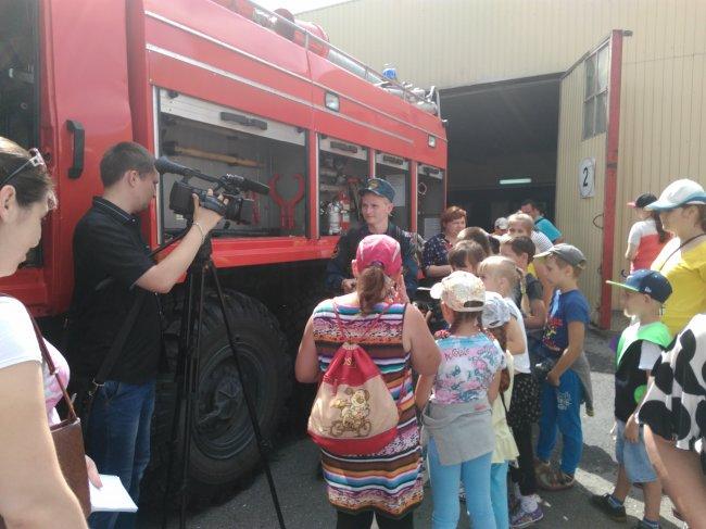 «День открытых дверей» в 73 ПСЧ ФГКУ «5 ОФПС».