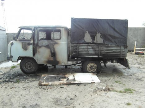 ОНДиПР (по г. Радужному) Пожар в автомобиле 10 сентября 2016 года.