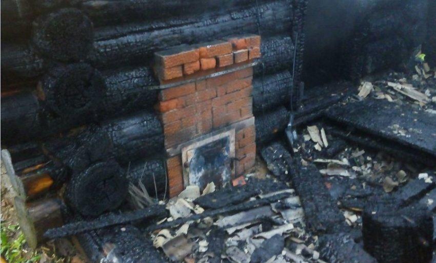 ОНДиПР (по г. Радужному) Пожар в строении бани 27 октября 2016 года.