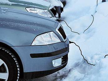 Не используйте провода для подогрева машин!