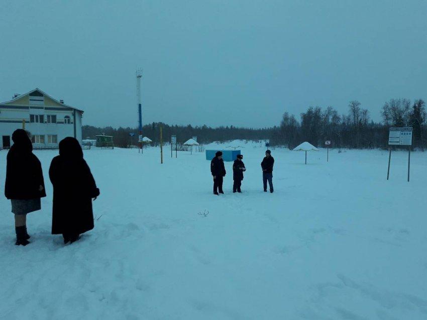 О мерах безопасности на тонком льду для Радужнинцев.