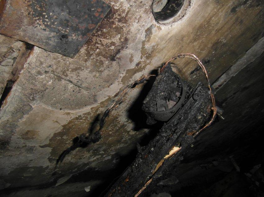Пожар в квартире многоквартирного жилого дома 27 января 2018 года.