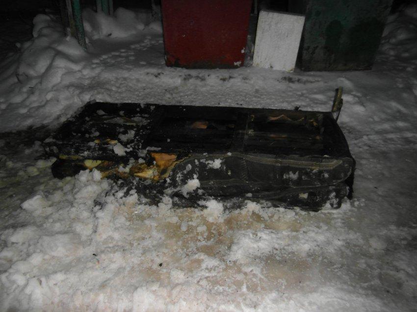 Пожар 28 января 2018 года в жилом доме с низкой пожарной устойчивостью.