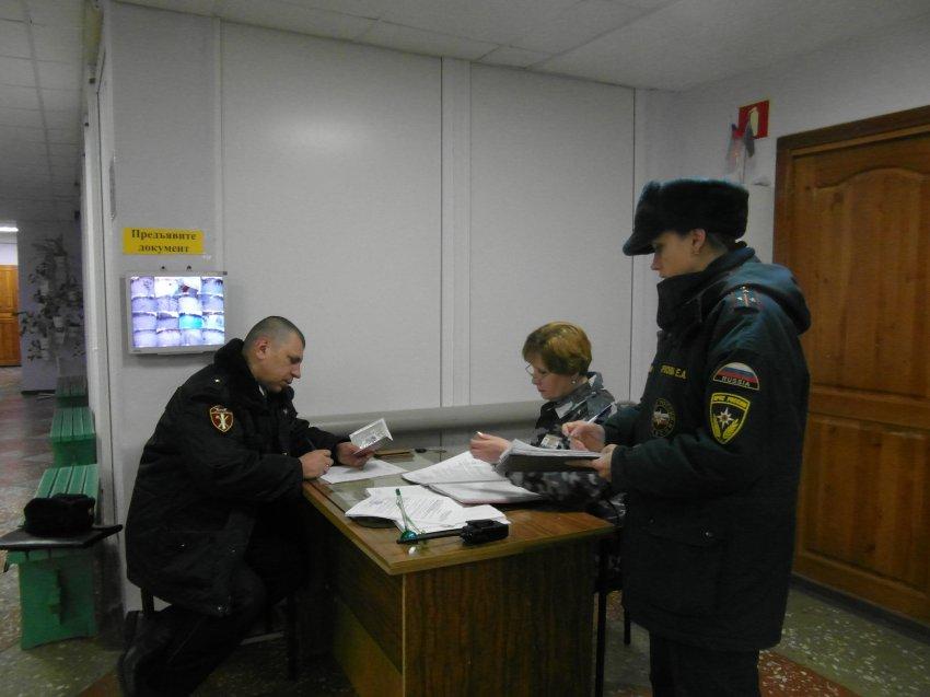 Обследования избирательных участков и мест с массовым пребыванием людей в городе Радужный проведены