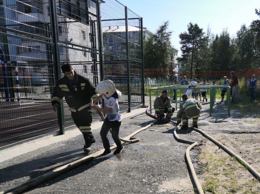 День безопасности в детском оздоровительном лагере Радужного