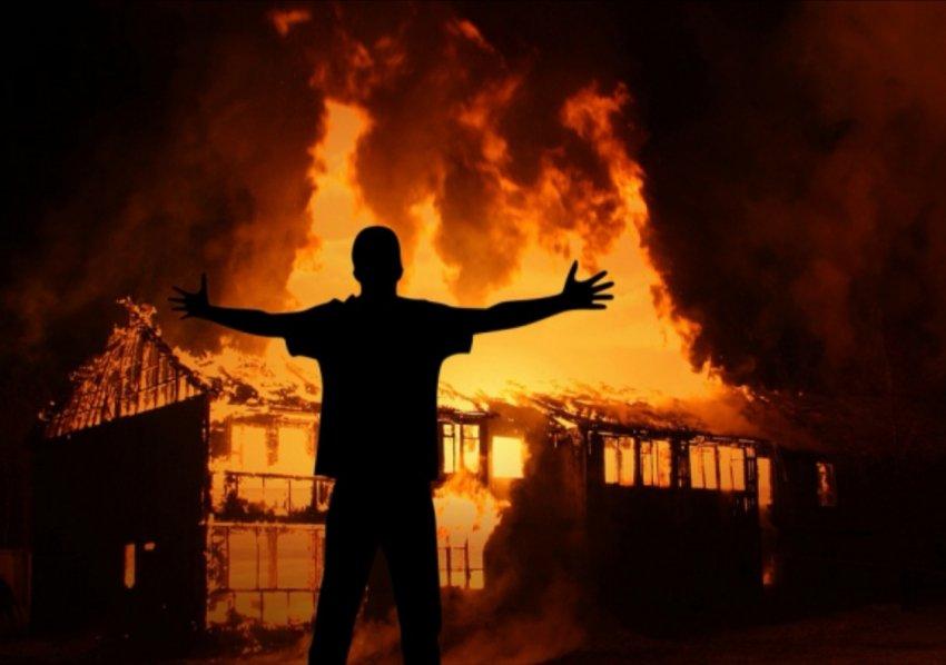Пожар в жилом доме 20 мая 2020 года.