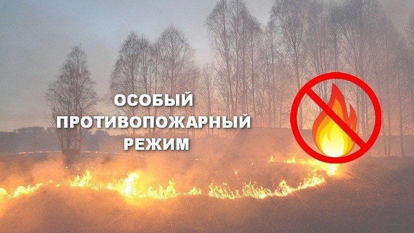 В Югре ввели особый противопожарный режим.