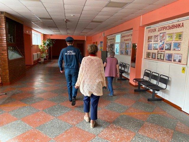 Обследования объектов, задействованных в проведении Единого дня голосования 13 сентября 2020 года.