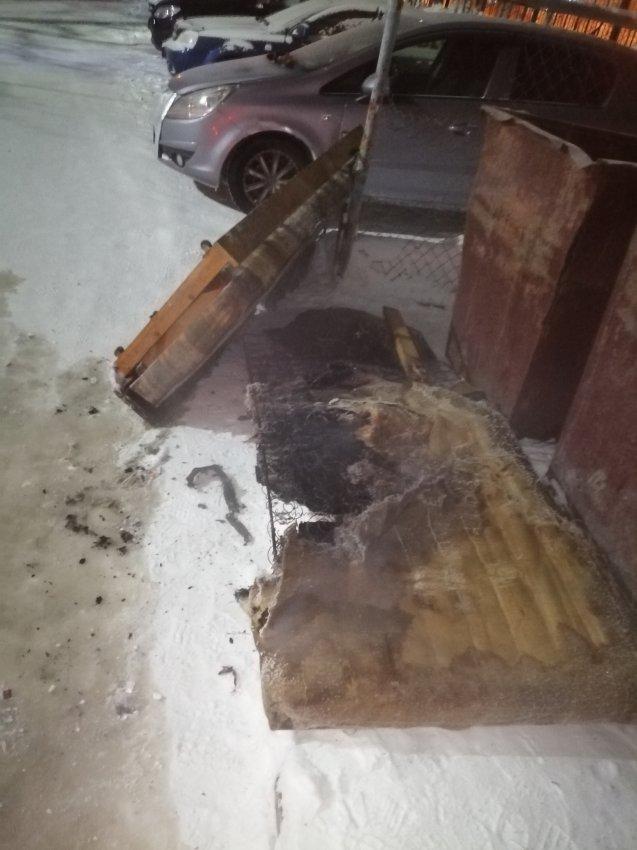 Пожар в многоквартирном жилом доме 20 февраля 2021 года.