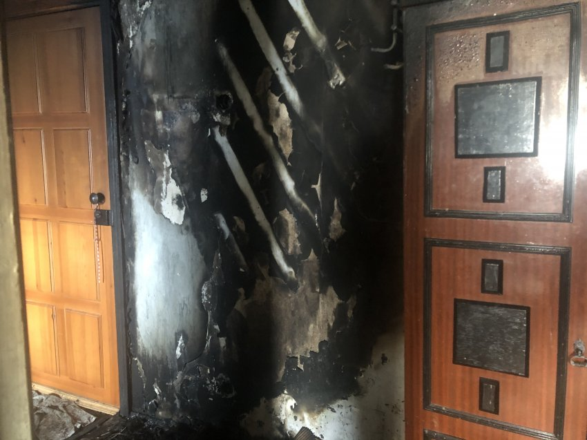 Пожар в многоквартирном жилом доме 05 марта 2021 года.