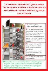 Пожарная безопасность в многоквартирных жилых домах