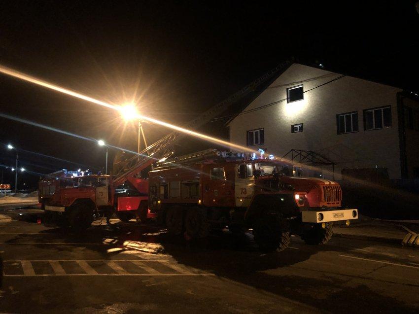 Пожар в частном жилом доме 05 апреля 2021 года.