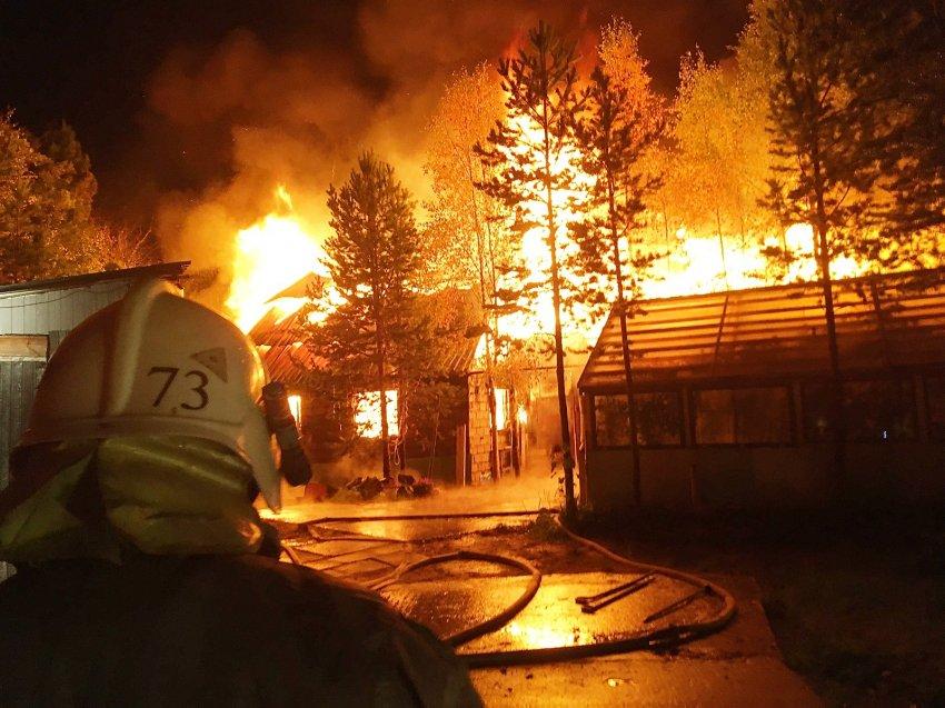 Пожар в СОТ Буровик от 07.09.2021